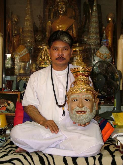 Ajarn Noo Ganpai - Sak yant Brahmin Master
