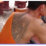 Tattooed Monk of Wat Bang Pra