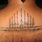 Sak Yant Thai Temple Tattoos  Mon Tradition Sak Yant by ...