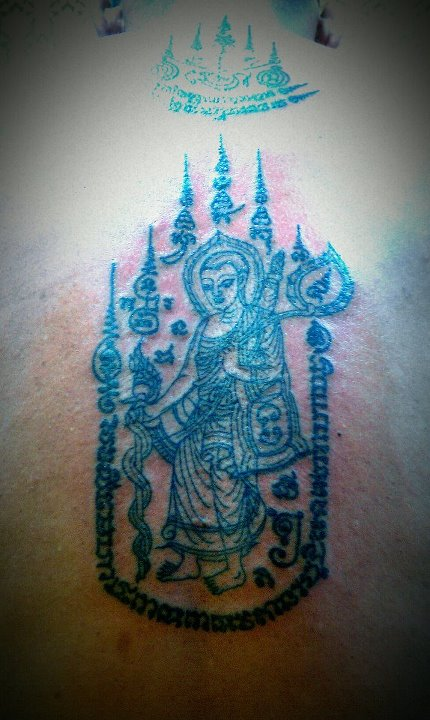 Sak Yant Pra Sivali/Mokkalana/Saributra