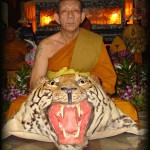Luang Por Sam Ang is the current Abbot of Wat Bang Pra.